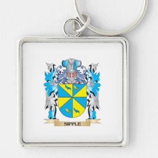 Escudo de armas de Sipple - escudo de la familia Llaveros