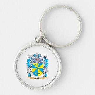 Escudo de armas de Sipple - escudo de la familia Llavero Personalizado