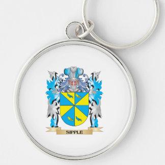 Escudo de armas de Sipple - escudo de la familia Llaveros Personalizados