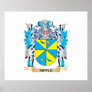 Escudo de armas de Sipple - escudo de la familia Posters