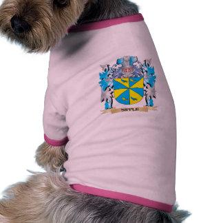 Escudo de armas de Sipple - escudo de la familia Camiseta De Perro