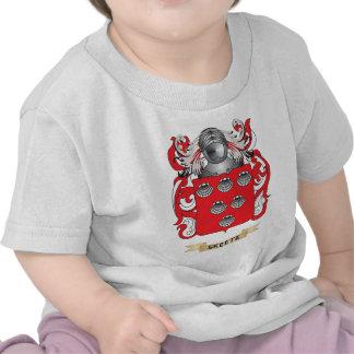 Escudo de armas de Skeete (escudo de la familia) Camiseta
