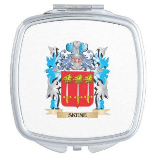 Escudo de armas de Skene - escudo de la familia Espejos De Viaje