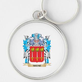 Escudo de armas de Skene - escudo de la familia Llaveros Personalizados