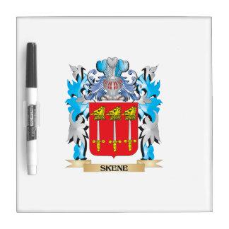 Escudo de armas de Skene - escudo de la familia Pizarra Blanca
