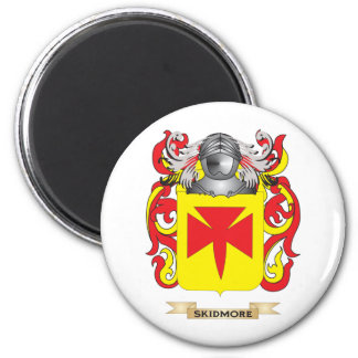 Escudo de armas de Skidmore (escudo de la familia) Imán Redondo 5 Cm