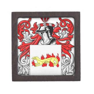 Escudo de armas de Slabaugh Caja De Joyas De Calidad