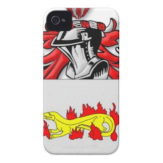 Escudo de armas de Slabaugh iPhone 4 Case-Mate Fundas