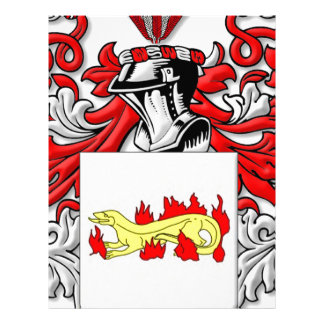 Escudo de armas de Slabaugh Membrete Personalizado