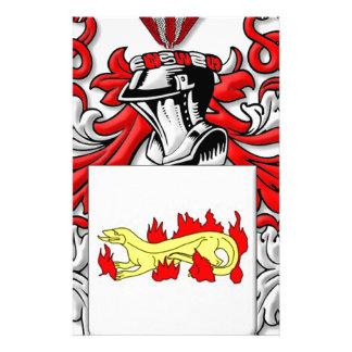 Escudo de armas de Slabaugh Papelería Personalizada