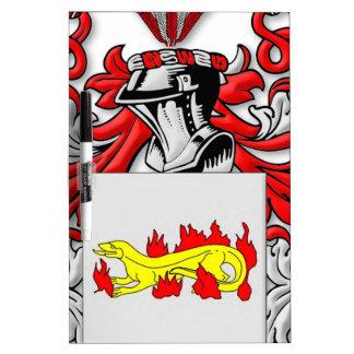 Escudo de armas de Slabaugh Pizarras