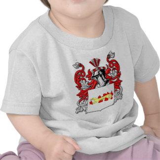 Escudo de armas de Slabaugh Camisetas