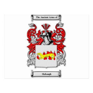 Escudo de armas de Slabaugh Postal