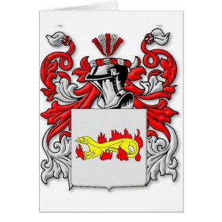 Escudo de armas de Slabaugh Tarjetón