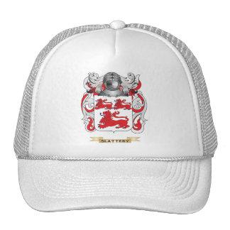Escudo de armas de Slattery (escudo de la familia) Gorras