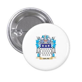 Escudo de armas de Solan - escudo de la familia Pin