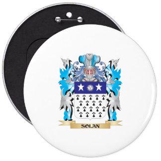 Escudo de armas de Solan - escudo de la familia