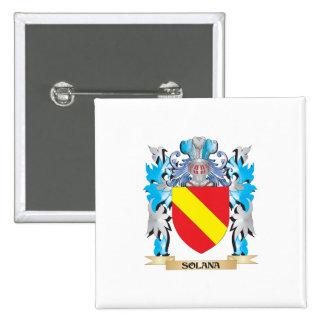 Escudo de armas de Solana - escudo de la familia
