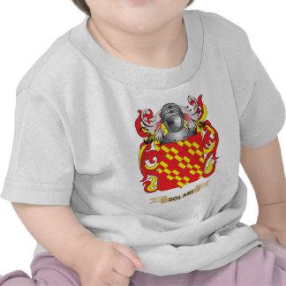 Escudo de armas de Solari (escudo de la familia) Camisetas