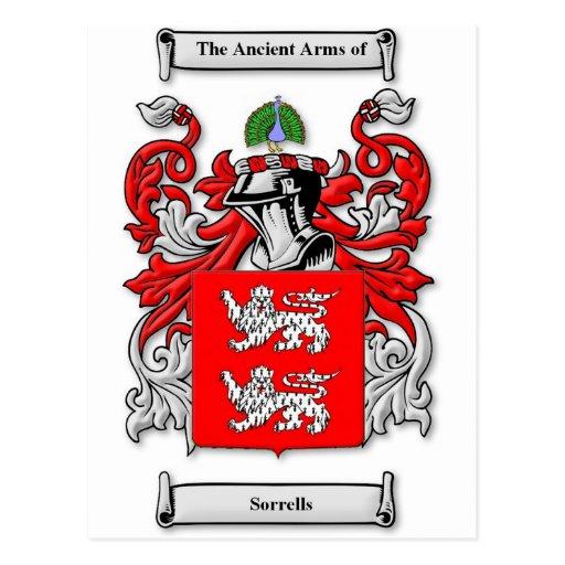 Escudo de armas de Sorrells Postal
