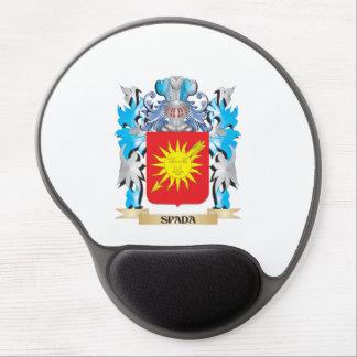 Escudo de armas de Spada - escudo de la familia Alfombrilla Gel