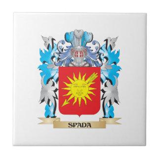 Escudo de armas de Spada - escudo de la familia Azulejos Cerámicos