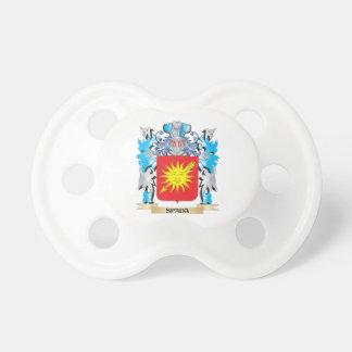 Escudo de armas de Spada - escudo de la familia Chupetes Para Bebés