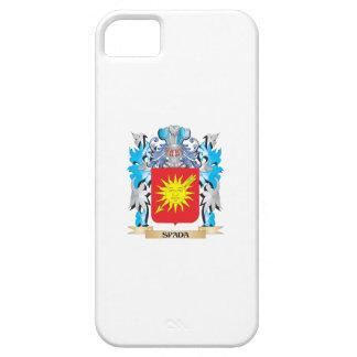Escudo de armas de Spada - escudo de la familia iPhone 5 Case-Mate Cárcasa