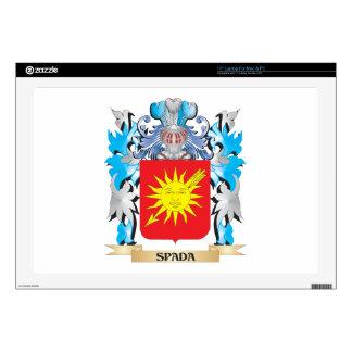 Escudo de armas de Spada - escudo de la familia Skins Para 43,2cm Portátil