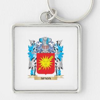 Escudo de armas de Spada - escudo de la familia Llaveros Personalizados