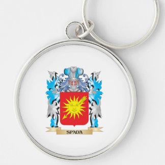 Escudo de armas de Spada - escudo de la familia Llaveros