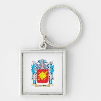 Escudo de armas de Spada - escudo de la familia Llavero