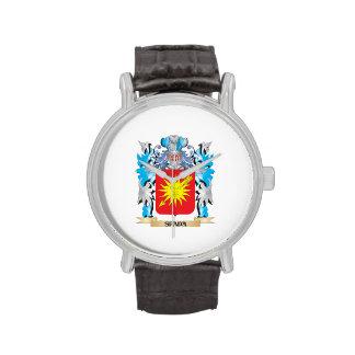 Escudo de armas de Spada - escudo de la familia Relojes
