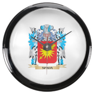 Escudo de armas de Spada - escudo de la familia Reloj Aquavista