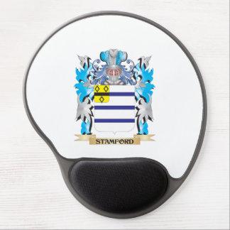 Escudo de armas de Stamford - escudo de la familia Alfombrilla Gel