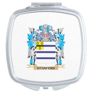 Escudo de armas de Stamford - escudo de la familia Espejos De Maquillaje