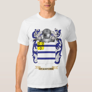 Escudo de armas de Stamford (escudo de la familia) Playeras