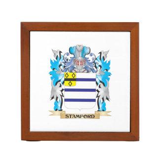 Escudo de armas de Stamford - escudo de la familia Portalápices