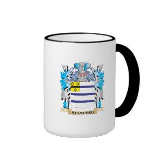 Escudo de armas de Stamford - escudo de la familia Taza De Dos Colores