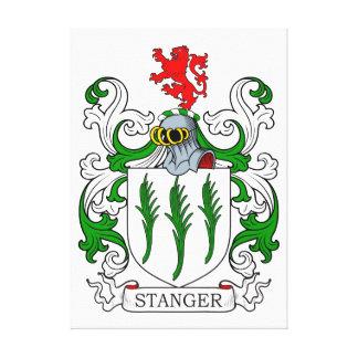 Escudo de armas de Stanger Impresión De Lienzo