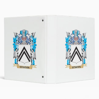 "Escudo de armas de Stanton - escudo de la familia Carpeta 1"""