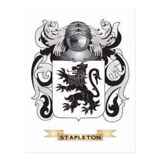 Escudo de armas de Stapleton (escudo de la Postal