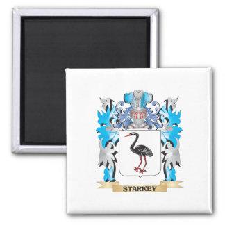 Escudo de armas de Starkey - escudo de la familia Imán Para Frigorifico