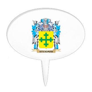 Escudo de armas de Steadman - escudo de la familia Figuras De Tarta