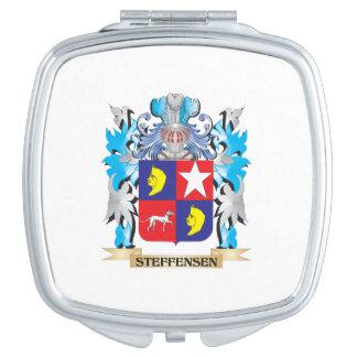 Escudo de armas de Steffensen - escudo de la Espejos De Maquillaje