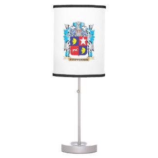 Escudo de armas de Steffensen - escudo de la Lámpara De Mesilla De Noche
