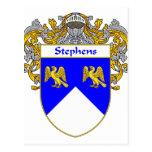 Escudo de armas de Stephens/escudo de la familia (