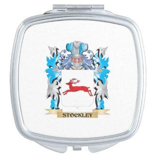 Escudo de armas de Stockley - escudo de la familia Espejos Compactos