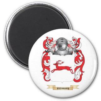 Escudo de armas de Stockley (escudo de la familia) Imán Redondo 5 Cm