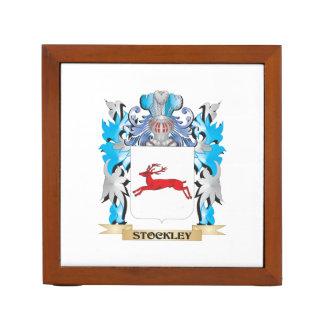 Escudo de armas de Stockley - escudo de la familia Organizador De Escritorio